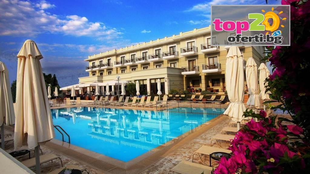 Last Minite Ранни записвания за Олимпийската Ривиера! Нощувка със закуска и вечеря + Басейн в хотел Danai Hotel & СПА 4*, Olympic Beach, Гърция, от 73.50 лв. на човек