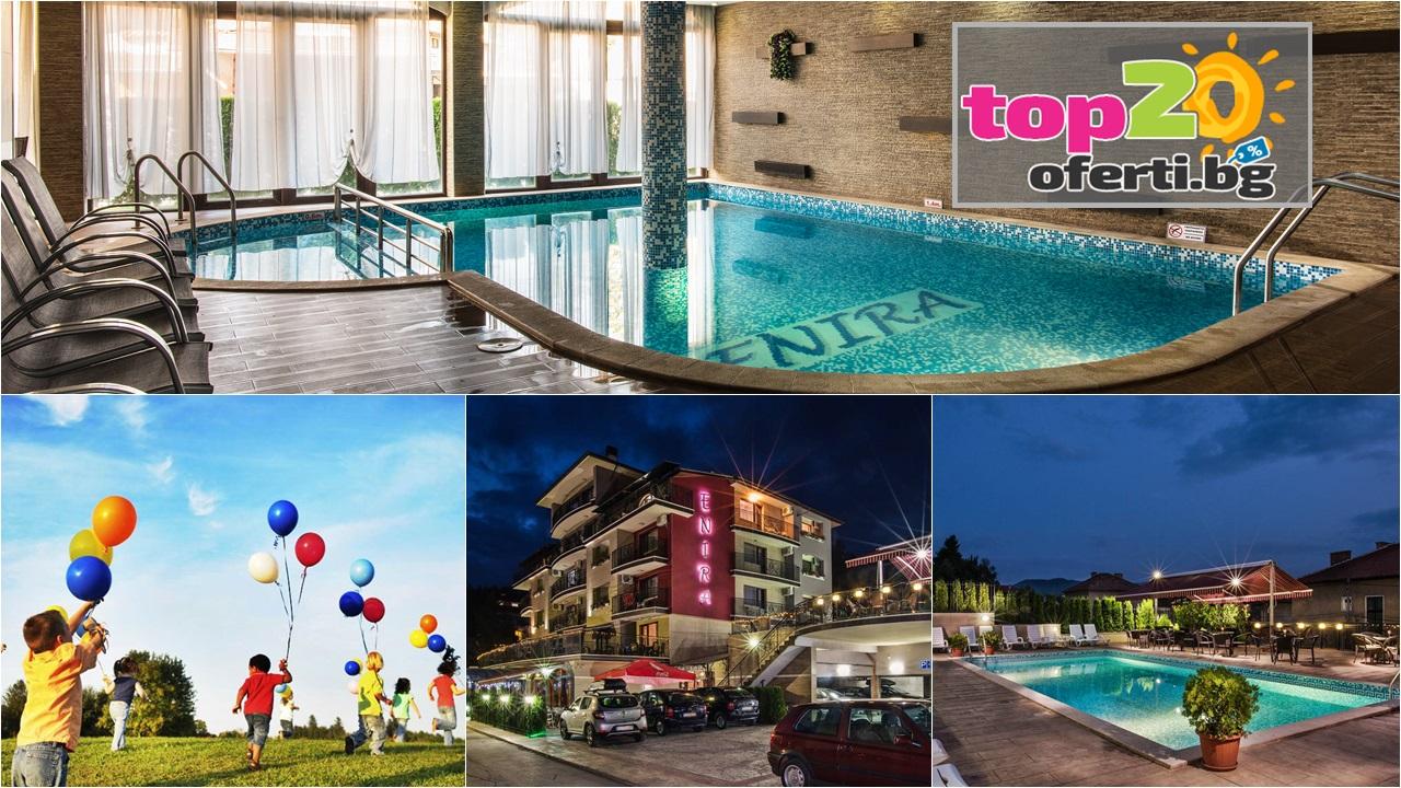 Пролетна ваканция - Нощувка със закуска и вечеря + Минерални басейни и СПА Пакет в СПА Хотел Енира 4* - Велинград, от 64.50 лв. на човек